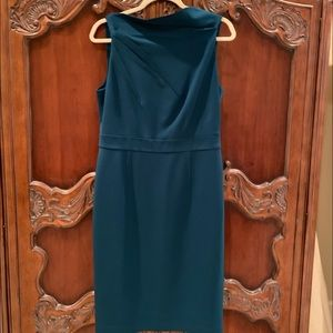 Vince Camuto teal color dress